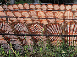Photo: drying rice paper spring roll wrapper in Si Chiang Mai, Nong Khai