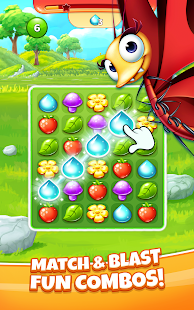 Best Fiends Stars - Free Puzzle Game 2.0.0 APK + Mod (Unlimited money) untuk android