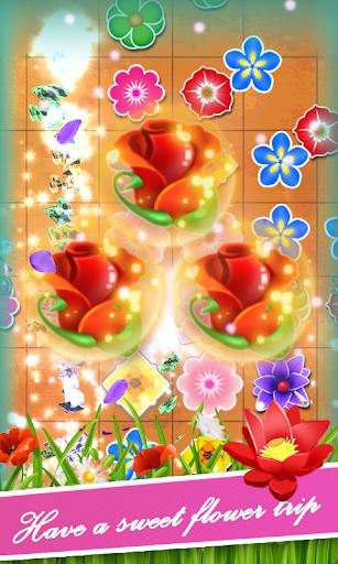 花繁荣绽放的花园