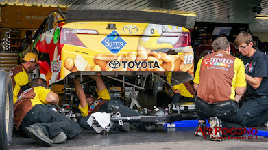 Photo: JGR #18 Toyota Kyle Busch's car. https://plus.google.com/+KyleBusch/posts