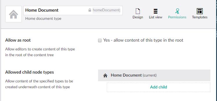 doc type permissions