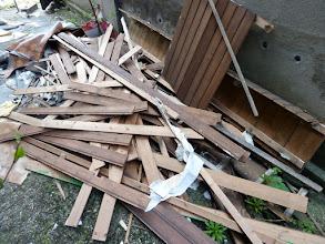 Photo: Meine Holzvertäfelung
