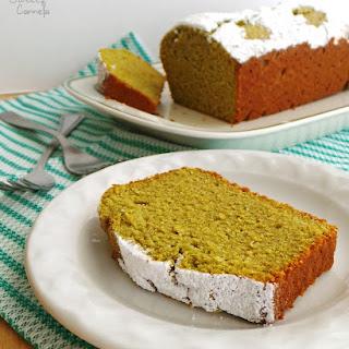 Healthy Green Tea Cake.
