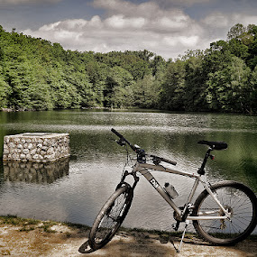 lake Maksimir by Dunja Kolar - Landscapes Waterscapes ( maksimir, croatia, lake, zagreb )