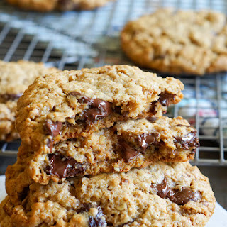 Chocolate Cherry Almond Butter Breakfast Cookies