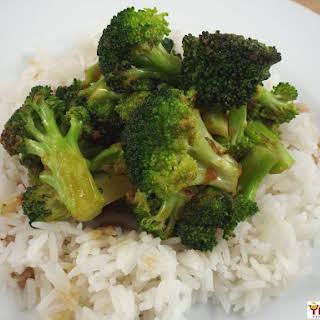 Broccoli in Garlic Sauce.
