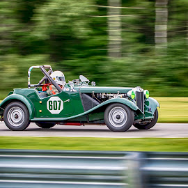 1953 mg td by Debbie Quick - Transportation Automobiles ( debbie quick, outdoor photography, connecticut, motorsports, 1953 mg td, auto racing, debs creative images, outdoor magazine, transportation, automobile, outdoors, car, lakeville, lime rock park, track,  )