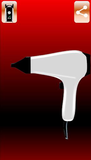 Hair clipper-Hairdressing scissors-Dryer 0.0.3 screenshots 11
