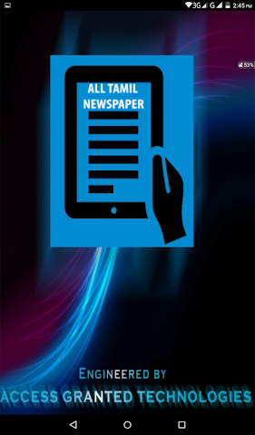android All Tamil Newspaper Screenshot 0