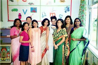 Photo: Members of Food and Funfair committee.