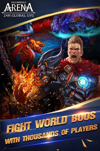 FallenSouls - Dragon Battle screenshot 4