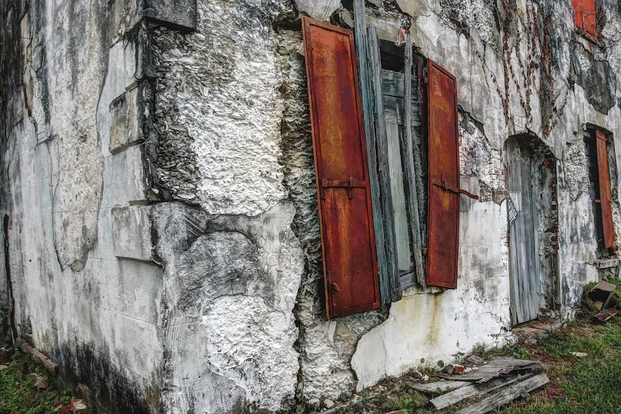 Nobody Home by Harry James - Buildings & Architecture Decaying & Abandoned ( coastalgeorgia, architecture, historic, dariengeorgia georgia building )