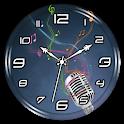 Music Clock Live Wallpaper icon