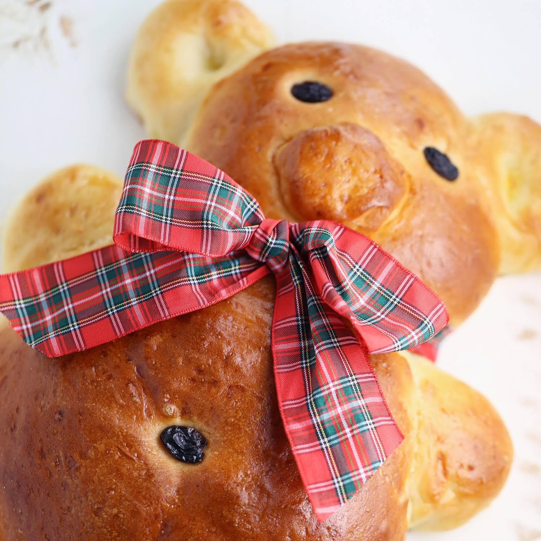 Teddy Bear Bread VIDEO