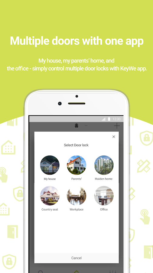 KeyWe smart life door lock- screenshot