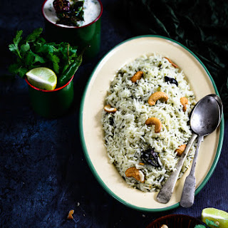 Spinach Rice Indian Recipes