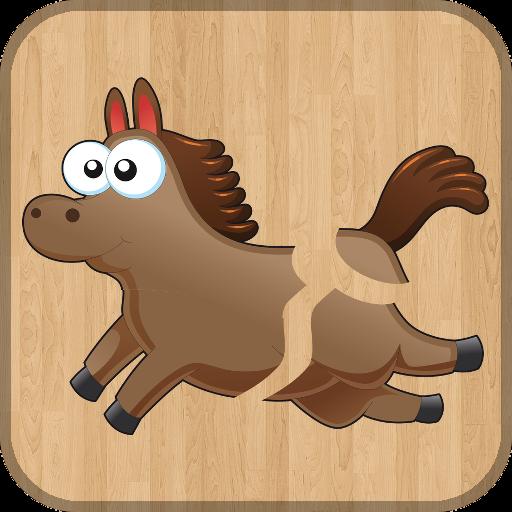 لعبة تركيب الحيوانات للأطفال (game)