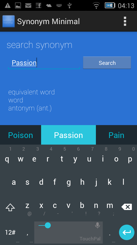 synonym minimal android apps on google play