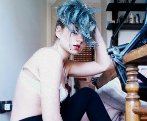 Il colore blu e caldo di herbivorous_creature