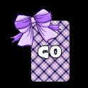 GO KB SKIN - Candy Bows 3 icon