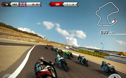 SBK15 Official Mobile Game: miniatura da captura de tela