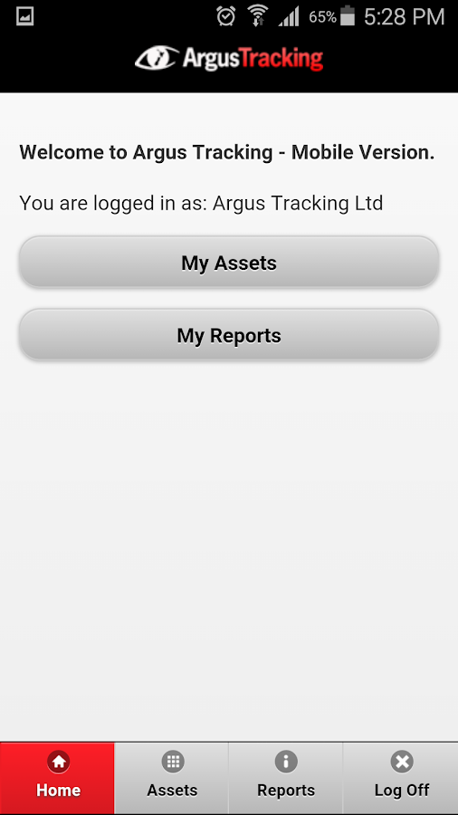 Argus Tracking- screenshot