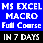 Learn MS Excel Macro Full Course Macro Development