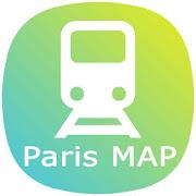 Paris Metro Subways Map