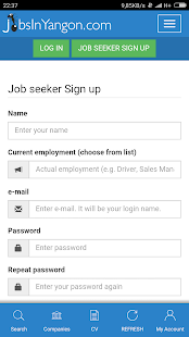 Jobs in Myanmar (Yangon)- screenshot thumbnail