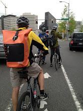 Photo: Bike to Work 12: Orange Bag