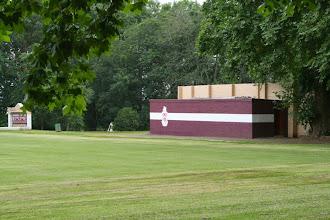 """Photo: The """"one-stripe"""" on Stott Field"""