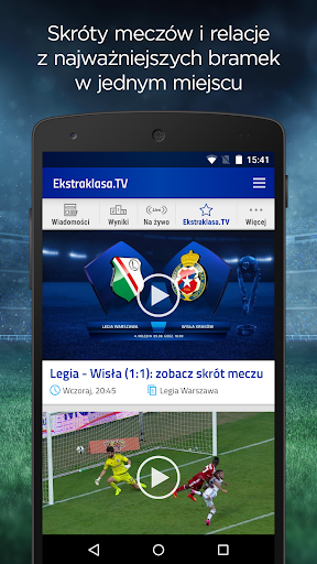 Ekstraklasa.TV 1.8 screenshots 4