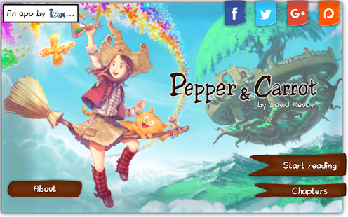 Pepper & Carrot- screenshot thumbnail