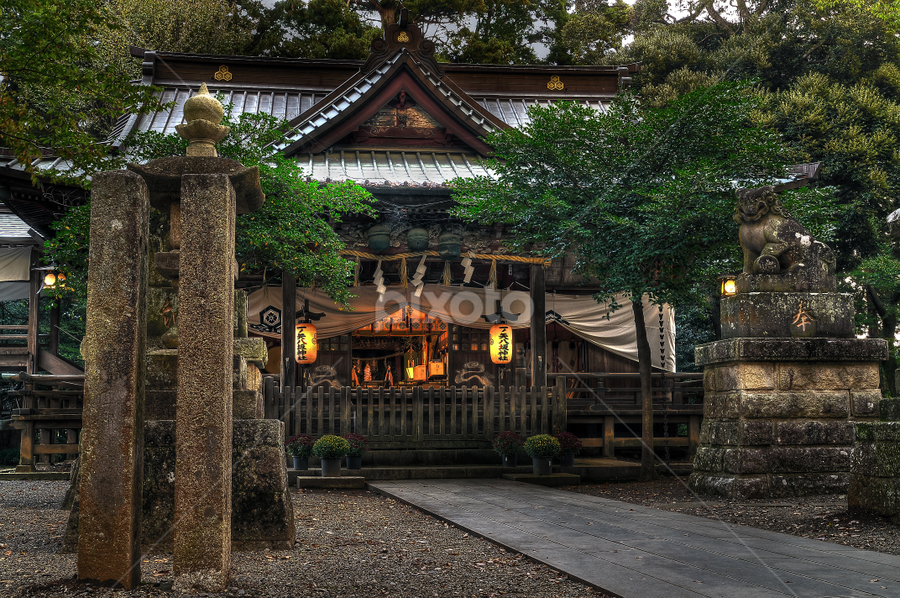 Ichinoya shrine by Krystian Pawlowski - Buildings & Architecture Places of Worship ( tsukuba, japan, shrine, ichinoya )