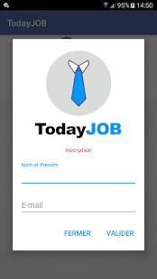 Today JOB - náhled