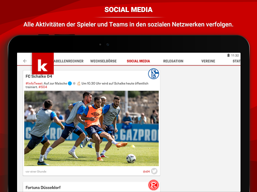 kicker Fuu00dfball News 5.7.0 screenshots 14