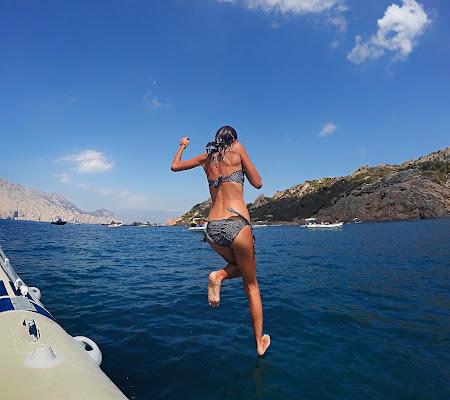 Correndo sull'acqua di LaMony