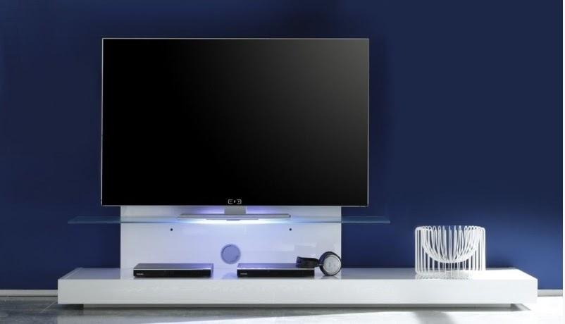 Porta tv moderno Bali, mobile soggiorno bianco,wengè,rovere, base tv ...