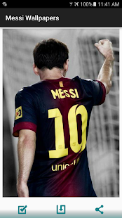 Messi Wallpapers HD Screenshot