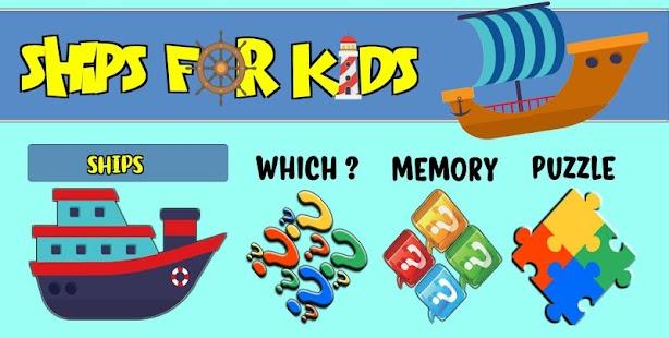 Ships For Kids - náhled