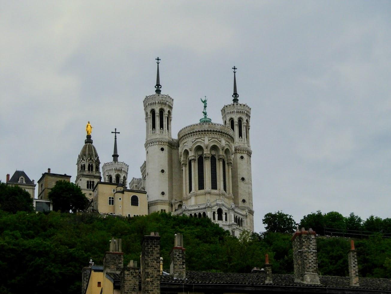 Basilique Notre-Dame à Lyon