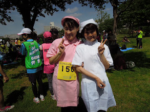 Photo: 可愛いナースのかおりん+ひでちゃん