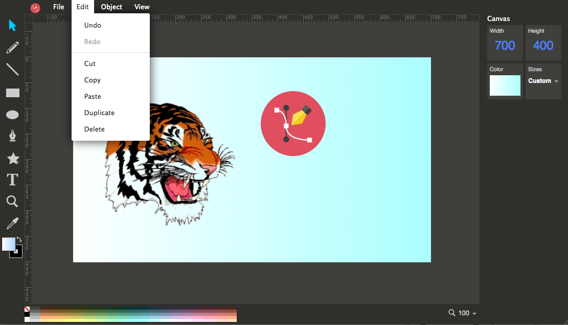 Ulmdraw vector graphics editor android apps on google play Online vector editor
