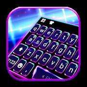 ثيم لوحة المفاتيح Blue 3d Tech APK