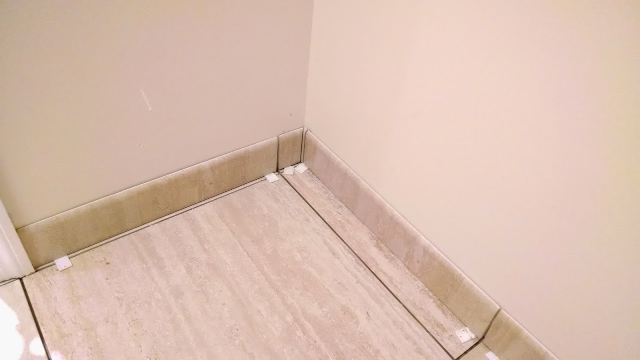 Of posts ceramic tile advice forums john bridge ceramic tile - Ended Up Going Non Stacked Finally Coming Together