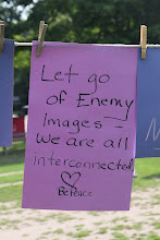 Photo: Let Go of Enemy Images - We Are All Interconnected. Be Peace