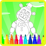 Coloring Book Five Nights 2 icon