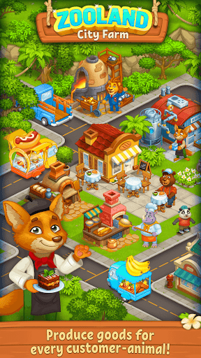 Farm Zoo: Happy Day in Animal Village and Pet City 1.37 screenshots 2
