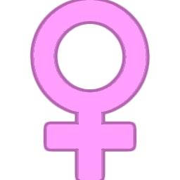 女性のアイコンマーク