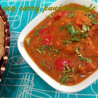 Veg Curry Punjabi Style Recipe